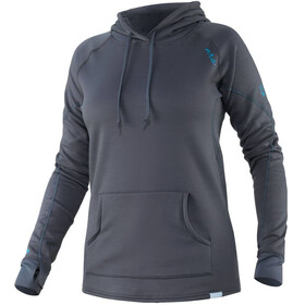 NRS H2Core Expedition Weight Hoodie Women, grijs